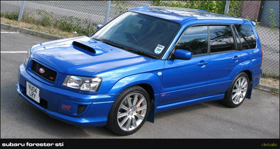 Saw a Forester STI today