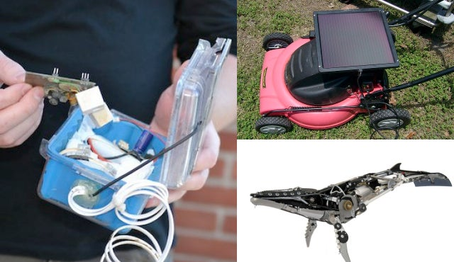 How to Build a Solar-Powered Lawn Mower and More from TreeHugger
