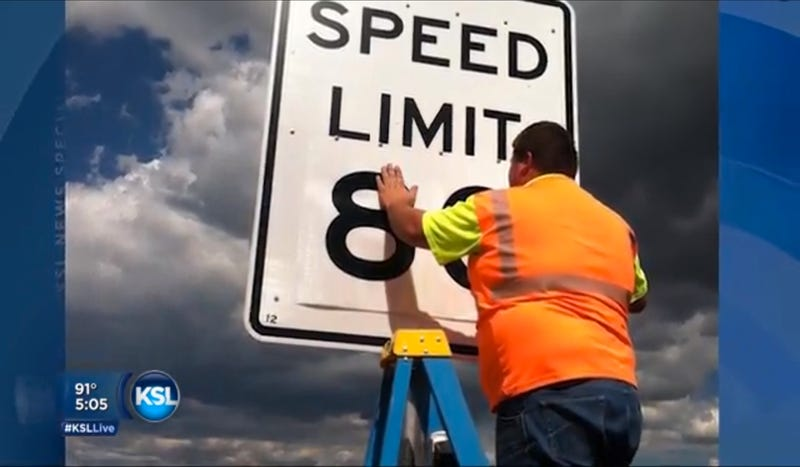 Utah Raises Some Speed Limits To 80 MPH Because It's Safer