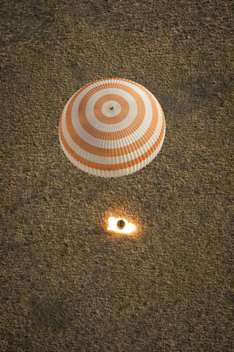 "ISS Crew ""Flew Blind"" on Their Way Back to Earth"