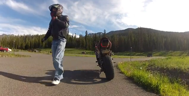 Watch A Hit-And-Run Rider Get Chased And Forced To Submit