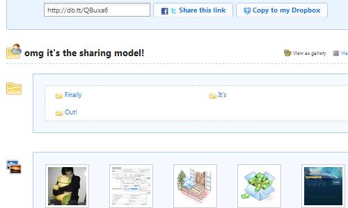 Dropbox Adds Easy Web Sharing of Any Folder
