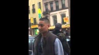 """""""He's 12! He's 12!"""" Video Captures Plainclothes Cop Punching Suspect"""