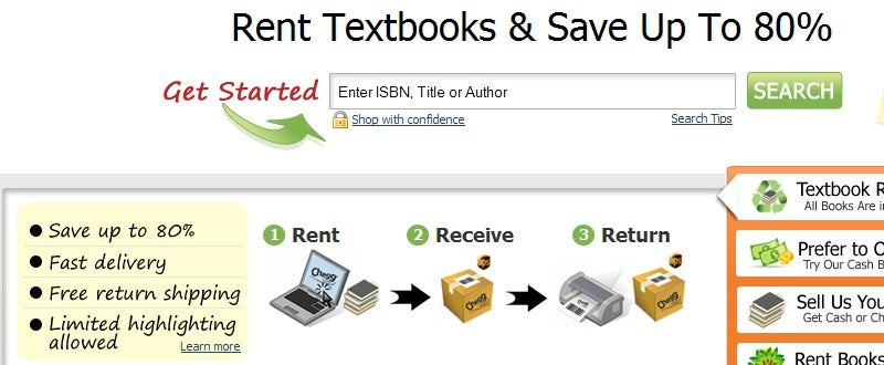 Best Places to Save Money on Textbooks