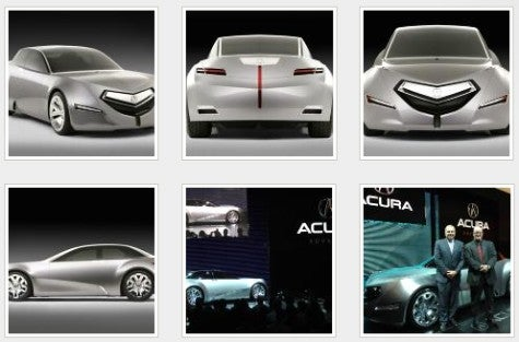 LA Auto Show: Acura Advanced Sedan Concept Is Weird