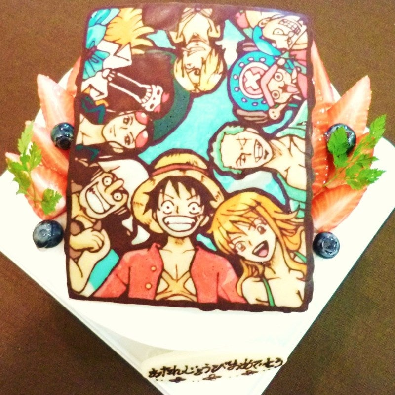 Japan Perfects the Art of Anime Cakes
