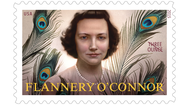 flannery o connor stamp