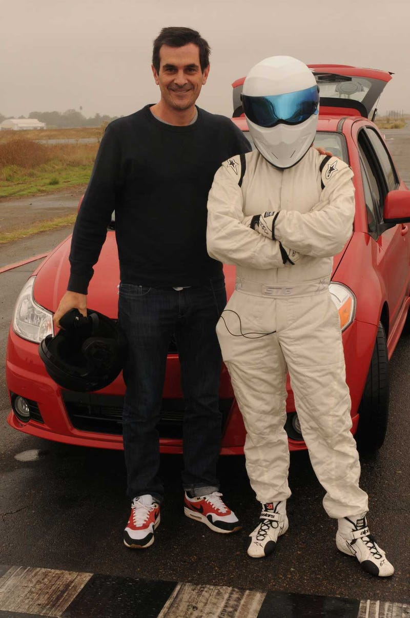 Top Gear Confirms American Stig, Suzuki SX4 As Small Car For Big Stars