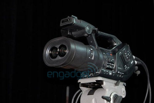 Prototype 3D Sony EX3 Camcorder Could Be In Wealthy Filmmakers' Hands Soon