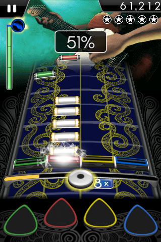 Rock Band for iPhone Looks Just Like the Real Thing, Minus the Plastic Instruments