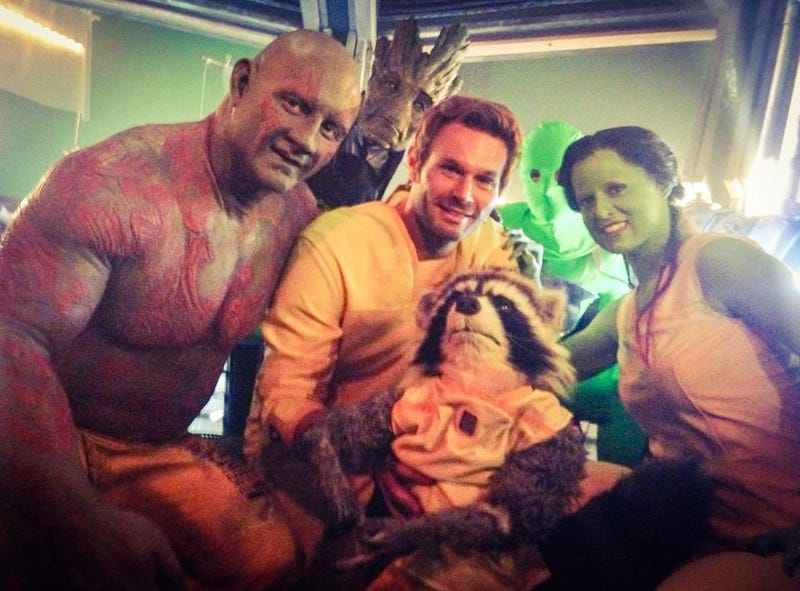 Guardians Of The Galaxy Stunt Doubles
