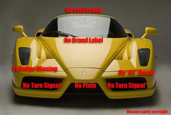 Edo Competition Tuned Ferrari Enzo Is No Fierrari Enzno
