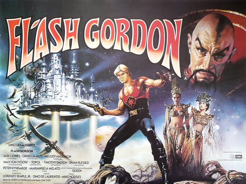 flash gordon la pelicula: