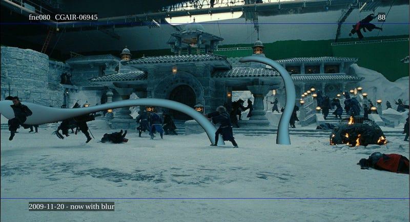 Last Airbender ILM VFX pics