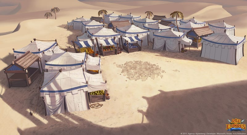 Age of Empires' Art is Like Free-to-Play Ice Cream