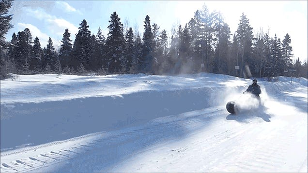 Tank-Powered Sledding Is Now Officially the Best Winter Sport