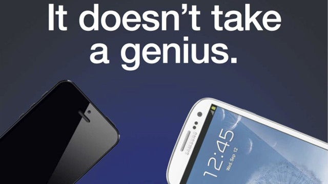 Samsung Throws Down the Gauntlet with Its New iPhone-Bashing Ad