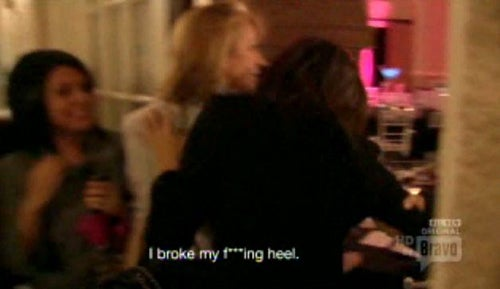Danielle's Weave Gets Ripped Out On Real Housewives