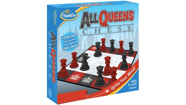 Chess Is Even More Challenging Played On a Tiny Board With All Queens
