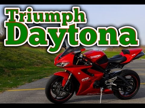 The Triumph Daytona 675 Makes A Terrible Starter Bike