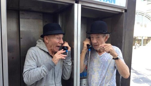 Patrick Stewart and Ian McKellen Are New York's Best Tourists