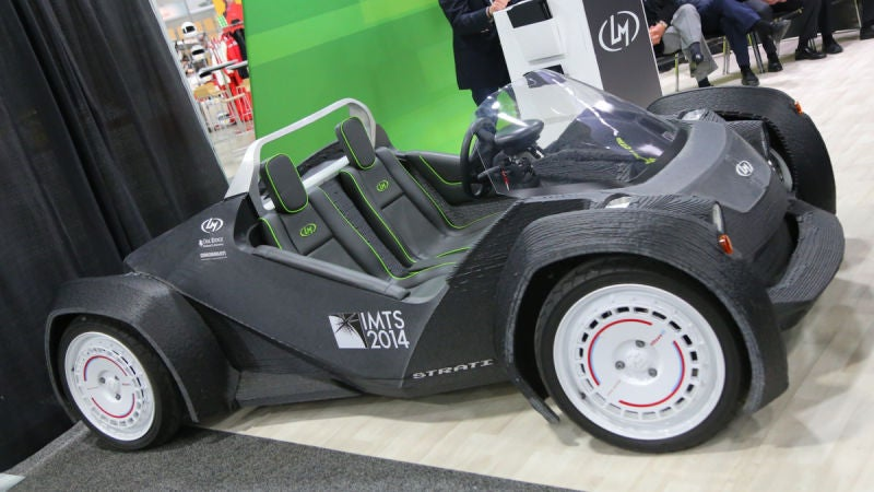 Local motors has an all new 3d printed car design for Local motors 3d printed car