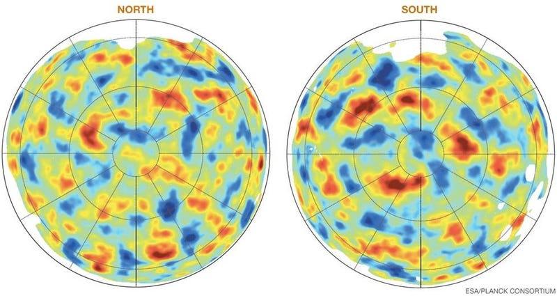 Este mapa muestra toda la materia visible que existe en el Universo