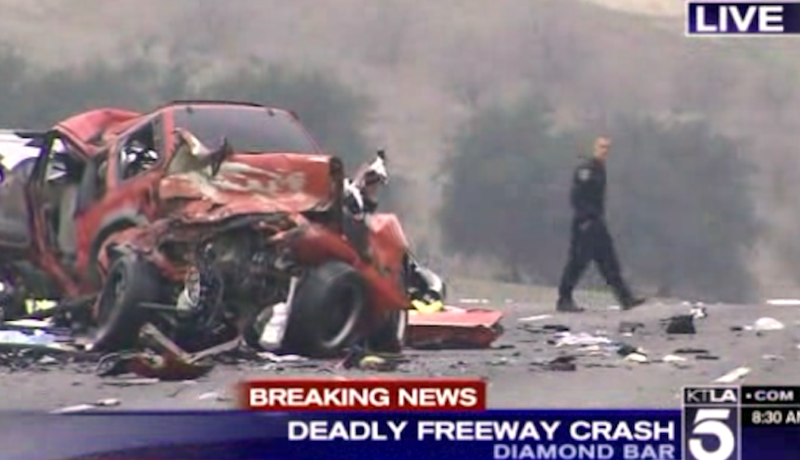 Wrong-Way Collisions Kill Eleven in LA and Florida (Graphic Video)