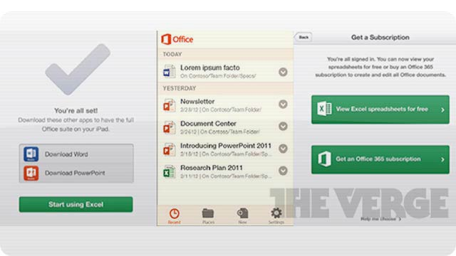 Report: Microsoft Office Is Finally Coming to iOS and Android in Early 2013