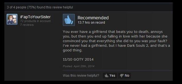Dark Souls II, As Told By Steam Reviews