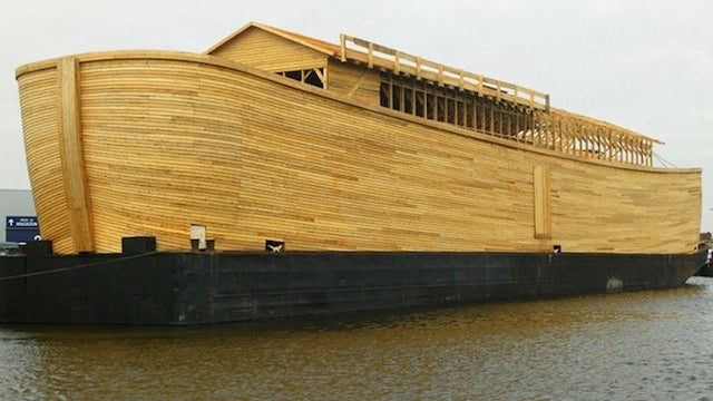 Johan's Ark Prepares For Its Maiden Voyage