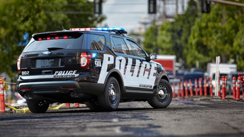 Police SUVs Are Exploding In Popularity Over Police Cars