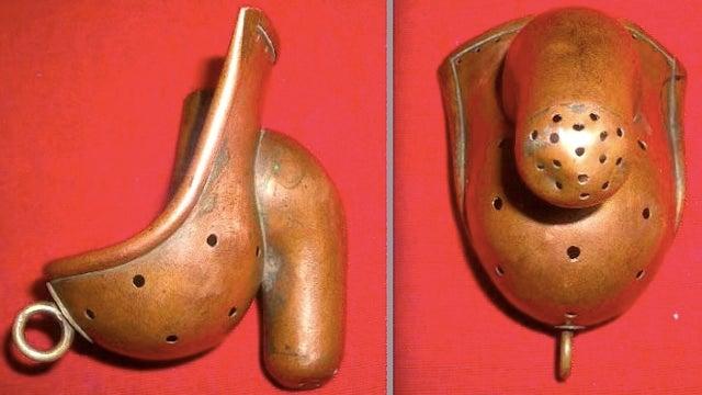 This 1880s anti-masturbation armor = the ultimate codpiece for your retro Iron Man costume