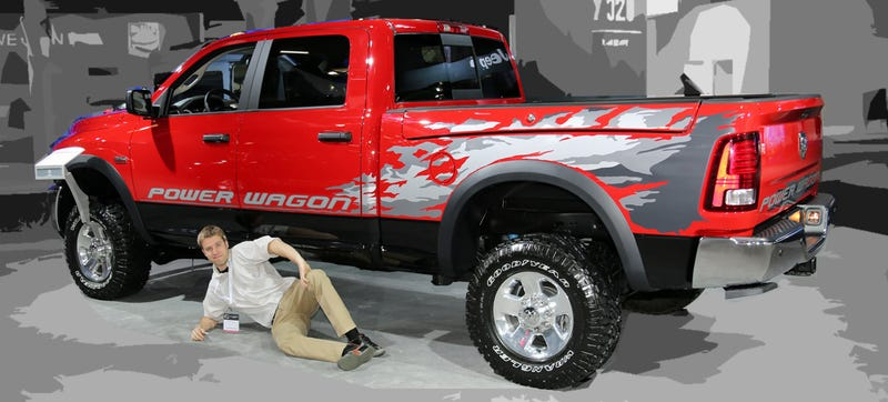 The Ram Power Wagon Is Garg-Godam-Gantuan