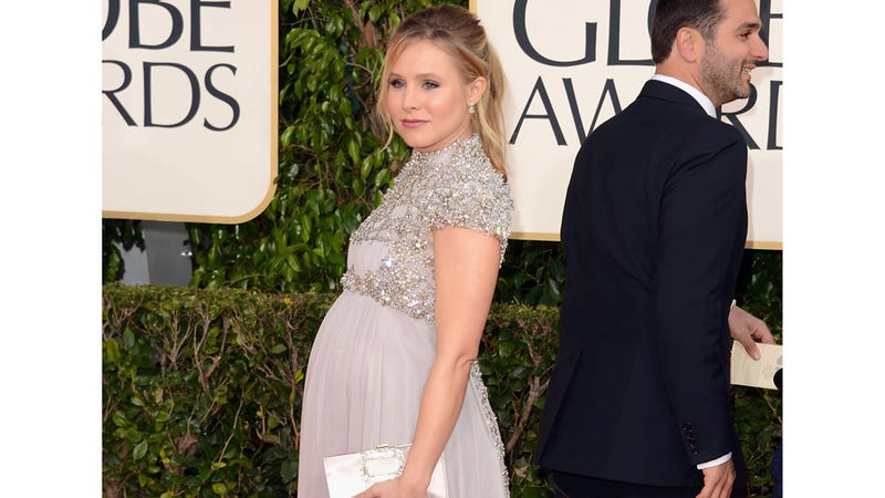 Kristen Bell Gave Birth to a Baby Girl, Named Her After a President or Possibly a Car