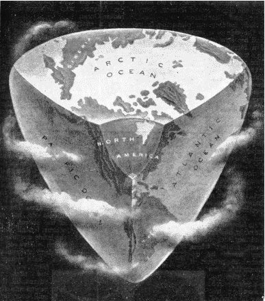 According to a 1918 science magazine, the Earth would transform into a pyramid