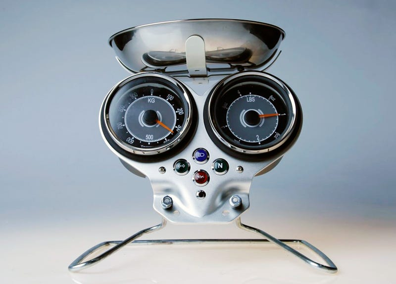 Amazingly, This Turntable Was Built From Motorcycle Parts