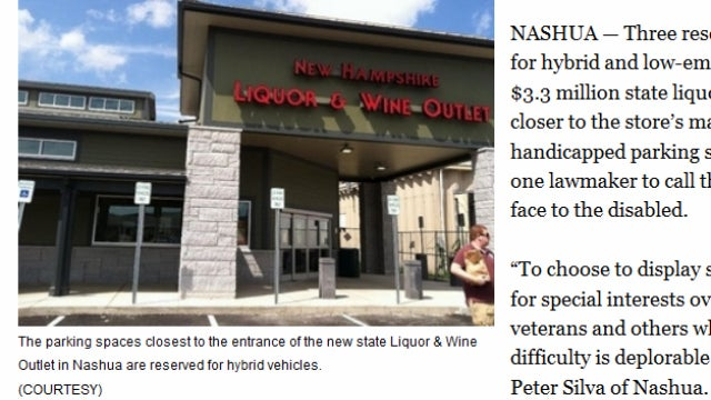 State Liquor Store Puts Yuppies Before Disabled Customers