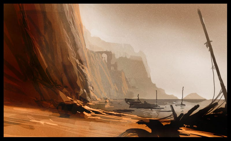 "The Sweeping Video Game Art of Nicolas ""Sparth"" Bouvier"