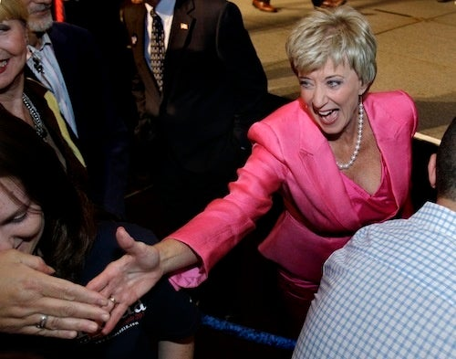 Republicans Nominate Wrestling Lady to Run for Senate