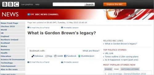 BBC Makes Inadvertent Scathing Comment About Gordon Brown