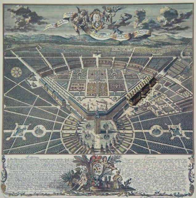 Ciudades geométricas vistas desde el aire