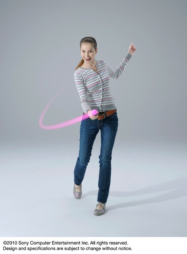 First Look At PlayStation Move With Professional Models and Photoshop