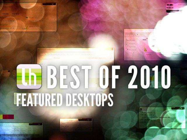 Most Popular Featured Desktops of 2010