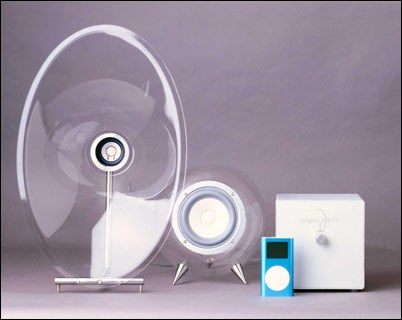 FH007 Transparent Powered Speakers Leave Us Shaken but Not Stirred
