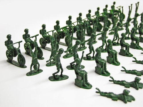 UNICEF's Toy Soldiers To Help Real Kids