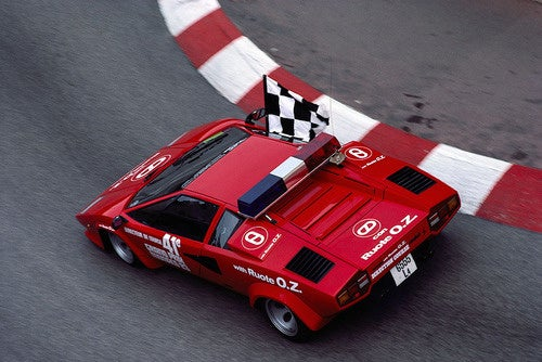 Holy Ferruccio! A Lamborghini Countach Safety Car
