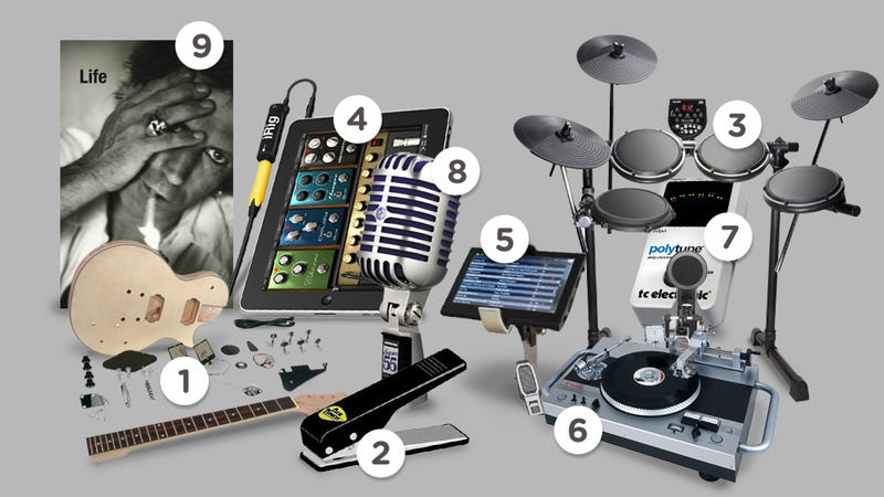 Guaranteed Awesome Gifts for the Future Rock Star