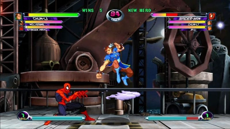 Marvel Vs. Capcom 2 Confirmed With HD, Online Support, Demo Coming