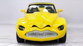 The Horrifying Face Of The Chevy 'DinoSSauR' Will Haunt Your Dreams